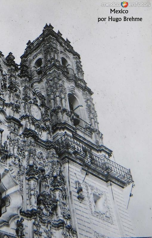Templo de San Francisco Javier Circa 1930-1950