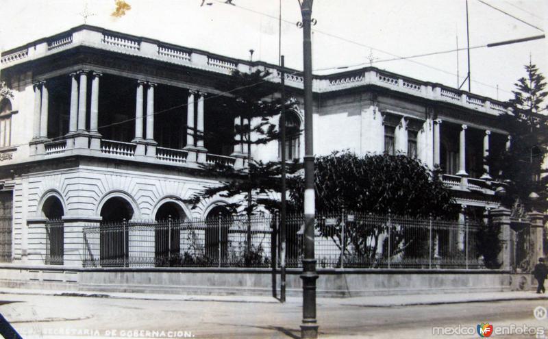 SECRETARIA DE GOBERNACION circa 1930-1950