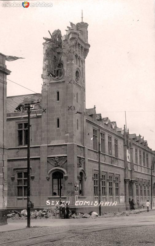SEXTA COMISARIA circa 1910-1920
