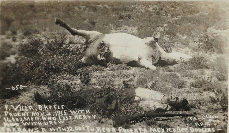 ESCENA POSTMORTUN DURANTE LA REVOLUCION MEXICANA circa 1910-1920