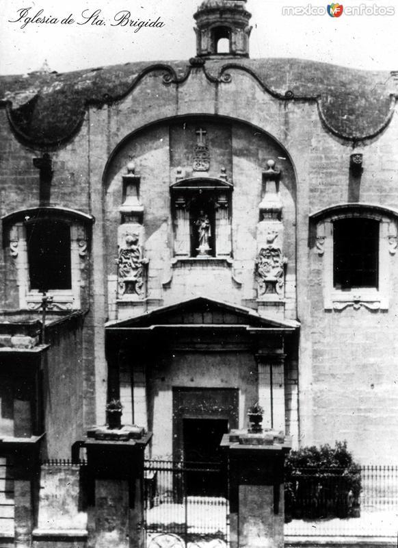 IGLESIA DE SANTA BRIGIDA Circa 1900-1920