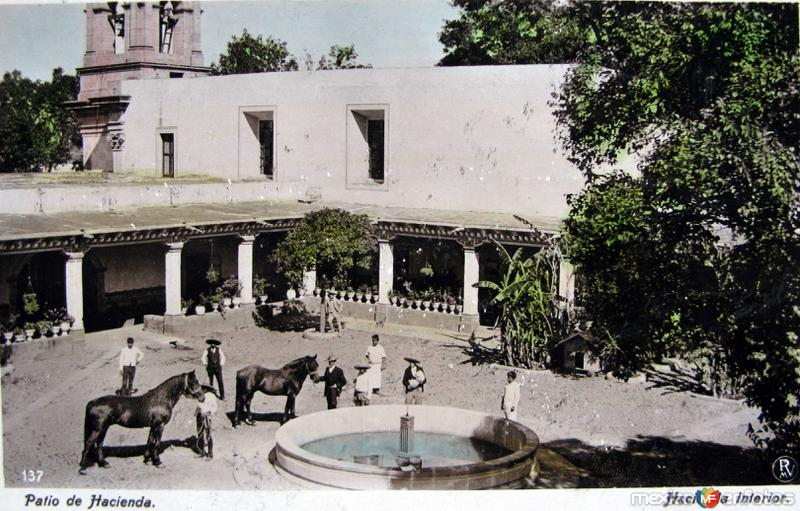 HACIENDA Circa 1910-1920