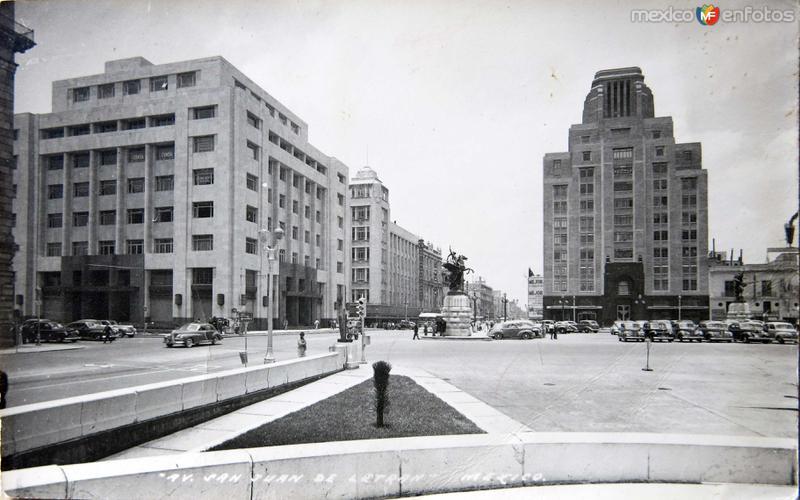 AVENIDA SAN JUAN DE LETRAN Circa 1930-1950