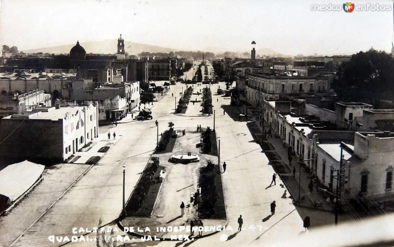 CALZADA INDEPENDENCIA Circa 1930-1950