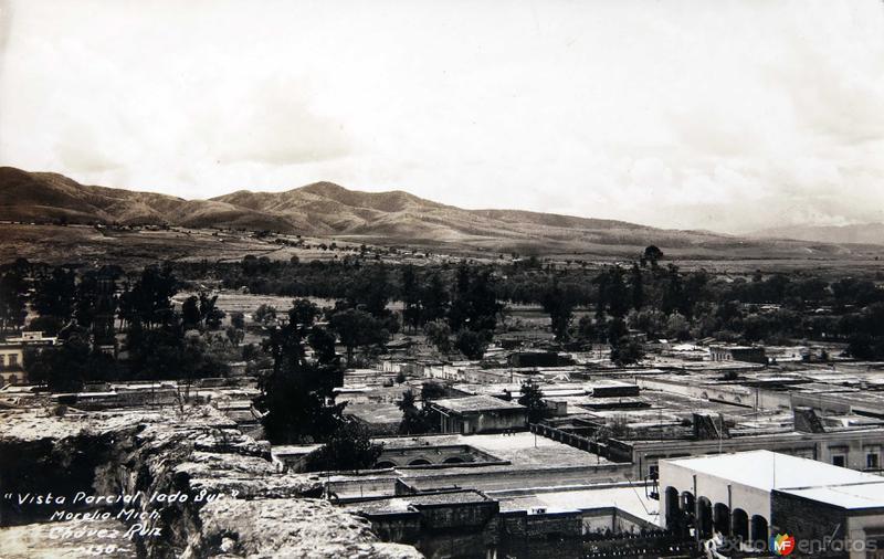 VISTA PARCIAL LADO SUR Circa 1930-1950