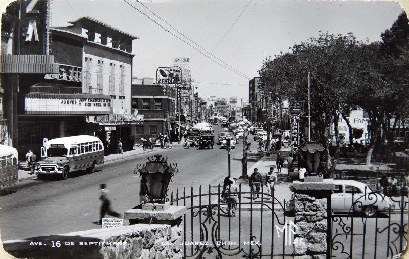 AVENIDA 16 DE SEPTIEMBRE Circa 1930-1950