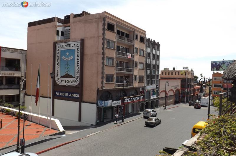 Calle Hermenegildo Galeana, zona centro. Septiembre/2015