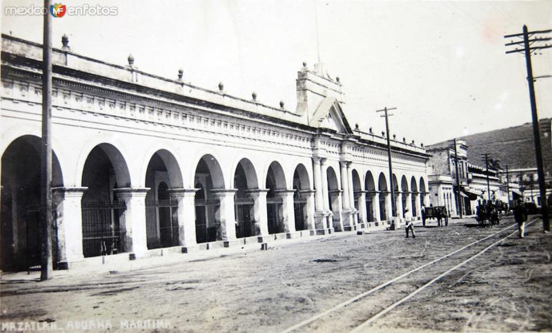 EDICIO DE LA ADUANA MARITIMA Hacia 1900-1920