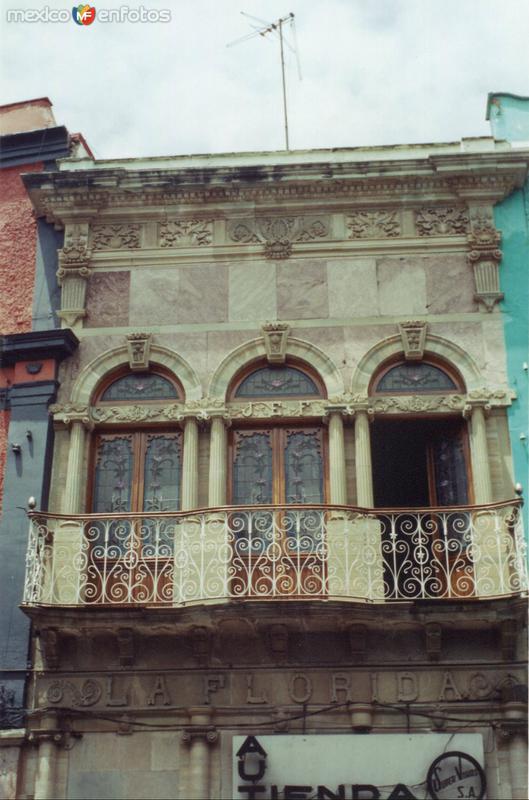 Balcón en el Centro Histórico
