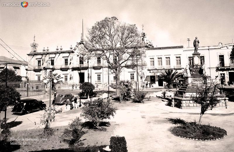 Morelia, Palacio de Gobierno, 1944