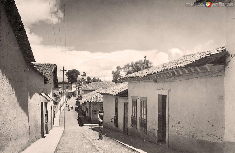 Pátzcuaro, Calle de la Paz, 1952