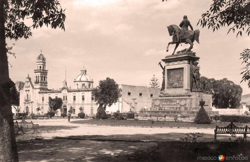 Morelia, Glorieta Morelos, 1940