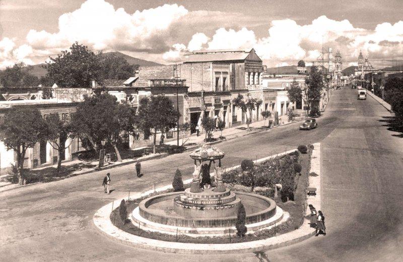 Morelia, Fuente Tarasca, 1955