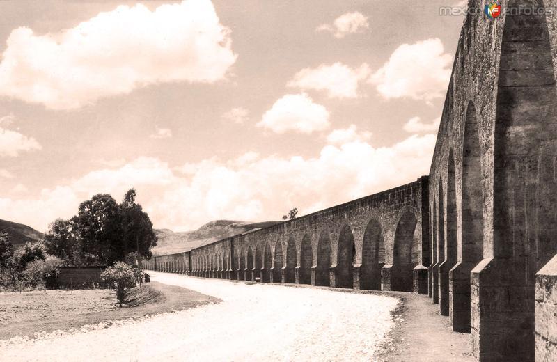 Morelia, Acueducto, 1935