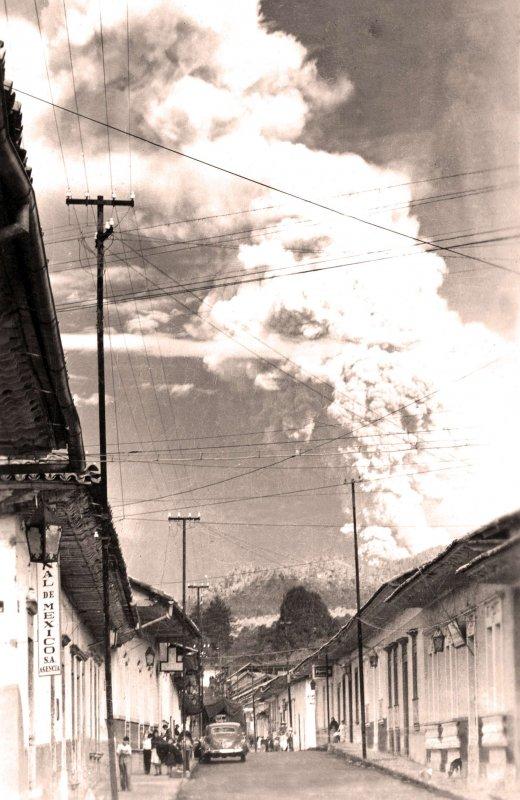 Uruapan, Calle E Carranza, 1943