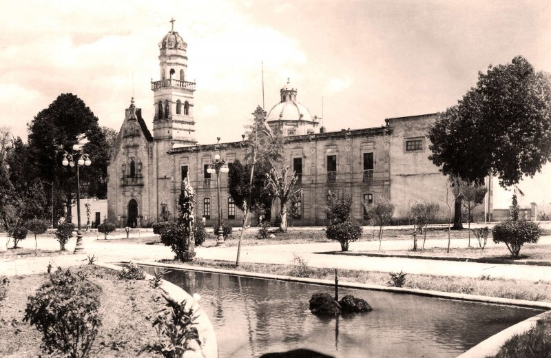 Morelia, Santuario de Guadalupe, 1940