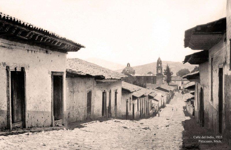 Pátzcuaro, Calle del Indio, 1935