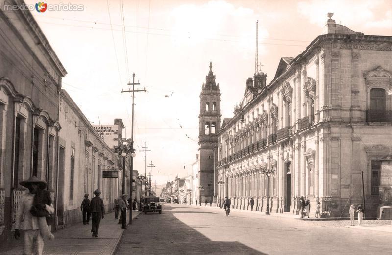 Morelia, Palacio Federal, 1932