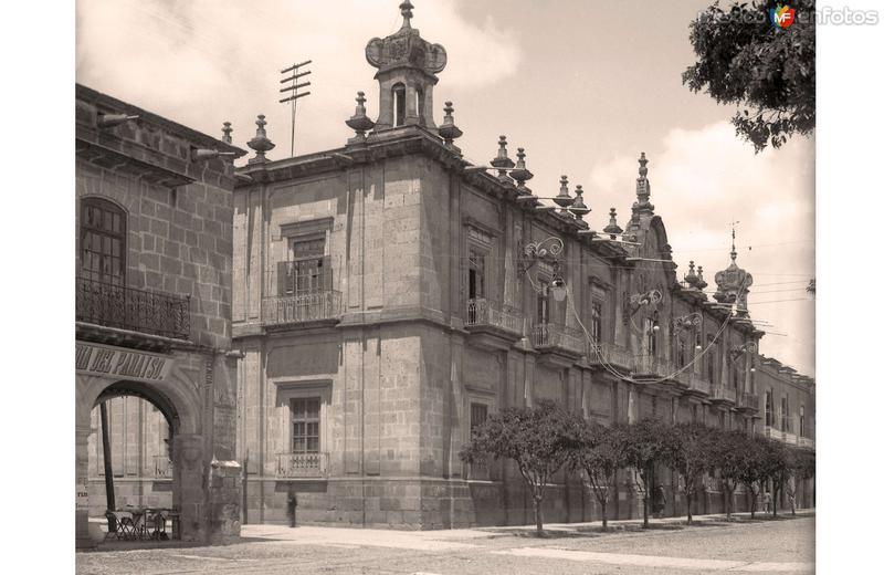 Morelia, Palacio de Gobierno, 1907