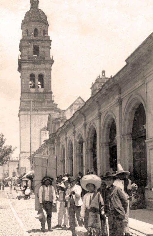 Morelia, Mercado de San Agustín, 1874