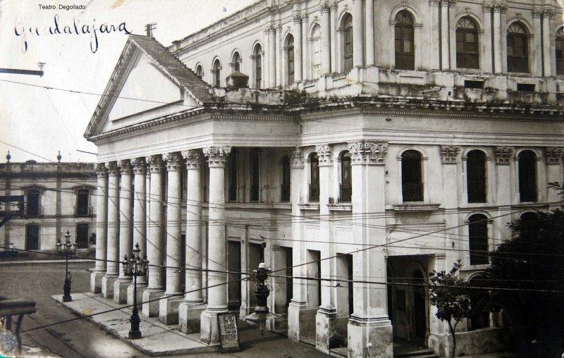 Teatro Degollado circa 1900-1930
