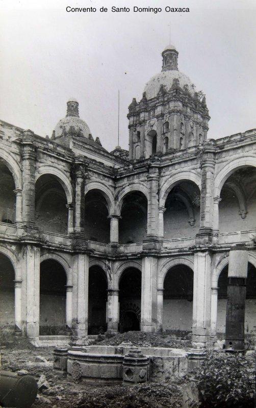 Convento de Santo Domingo Oaxaca circa 1930-1950