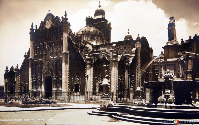 Sagrario Metropolitano de 1930-1950