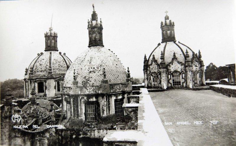 IGLESIA DE EL CARMEN de San Angel Circa 1930-1950