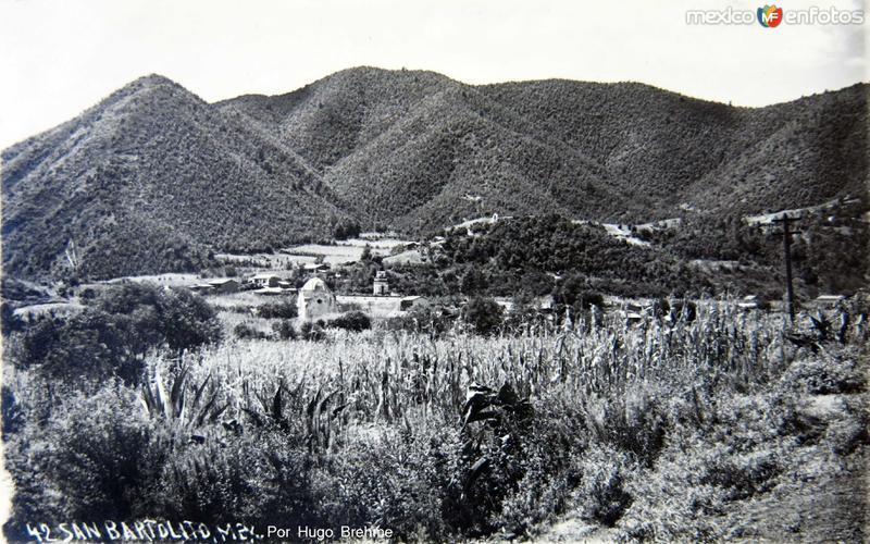 Panoram por el fotografo Hugo Brehme circa 1930