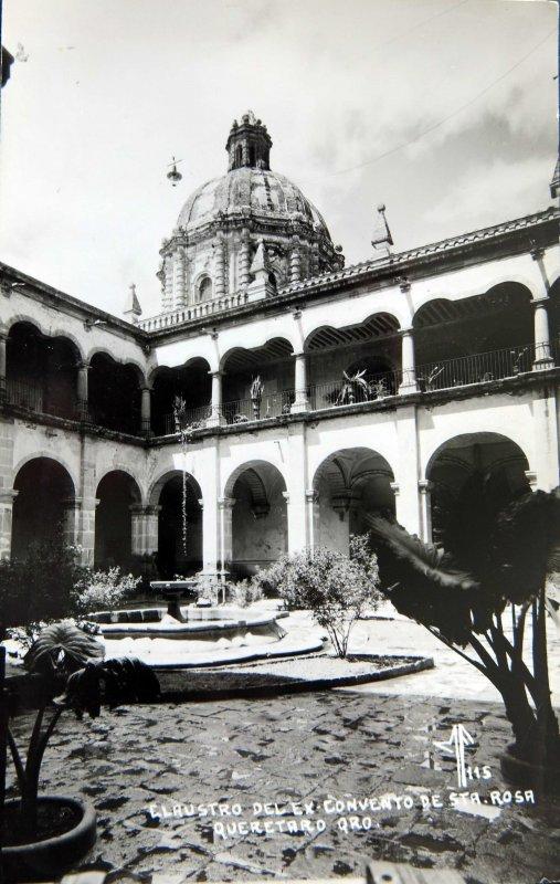CLAUSTRO DEL EXCONVENTO DE SANTA ROSA circa 1930-1950
