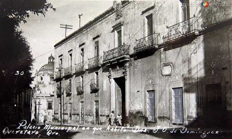 Casa de la Corregidora, hoy Palacio de Gobierno