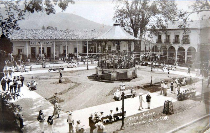 PLAZA JUAREZ Circa 1930-1950