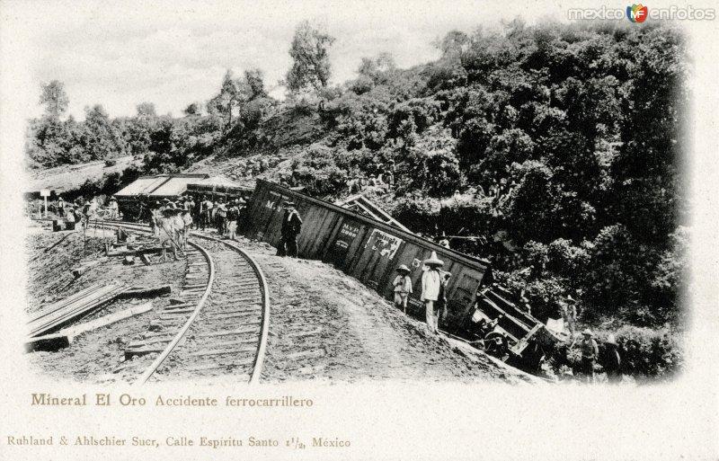 Accidente ferrocarrilero