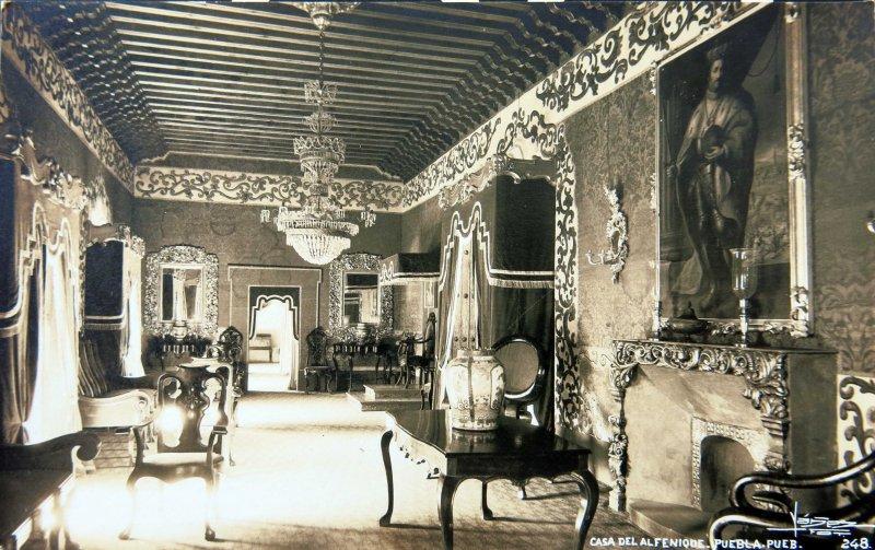 Casa del Alfenique en Puebla circa 1930-1950