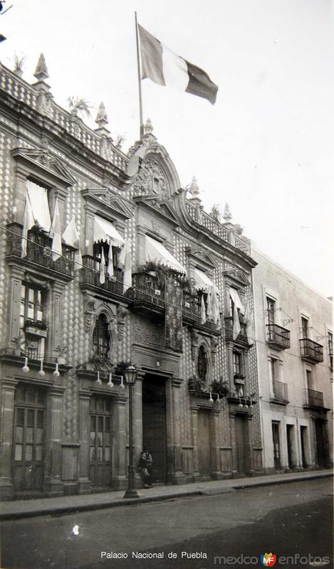 Fachadas de Puebla