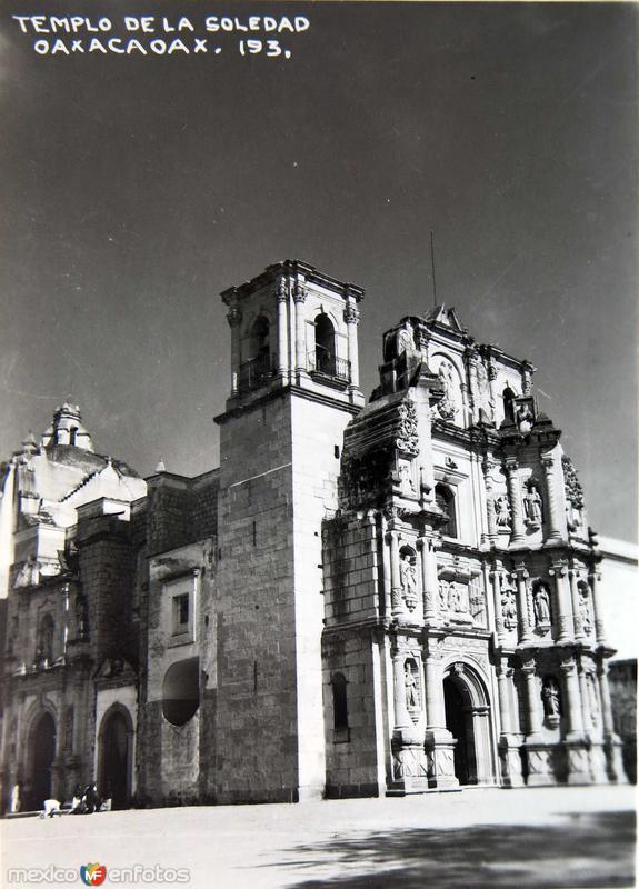 TEMPLO DE LA SOLEDAD Circa 1930-1950