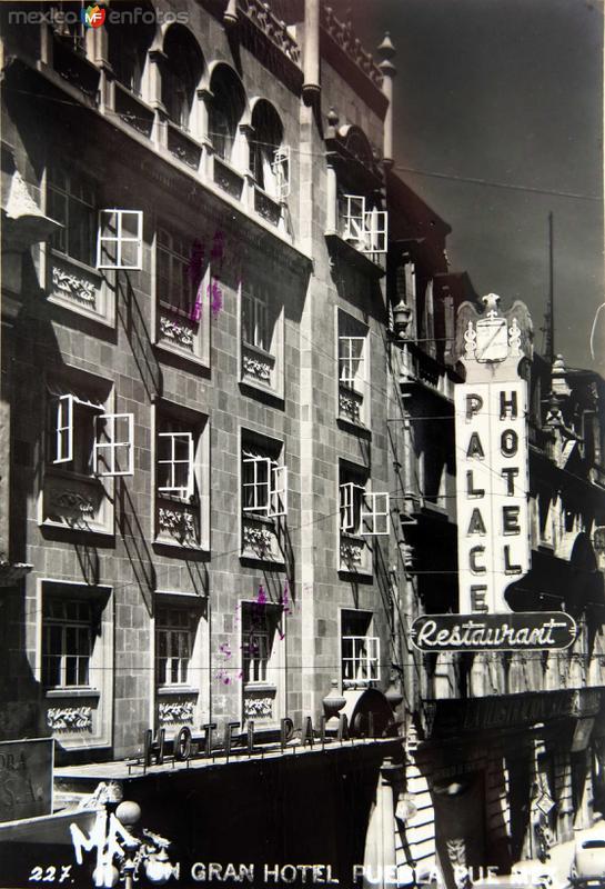 HOTEL PALACE Circa 1930-1950