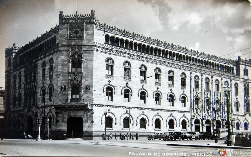 PALACIO DE CORREOS Circa 1930-1950