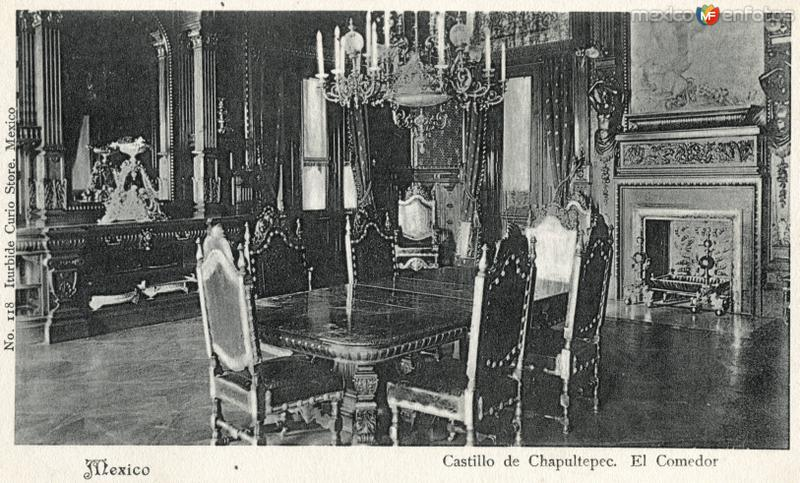 Comedor del Castillo de Chapultepec