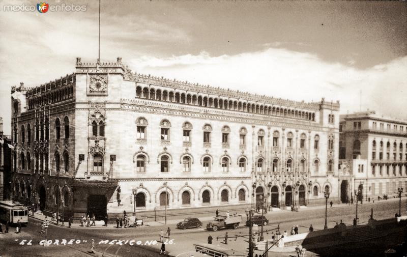 Palacio Postal de la Ciudad de México
