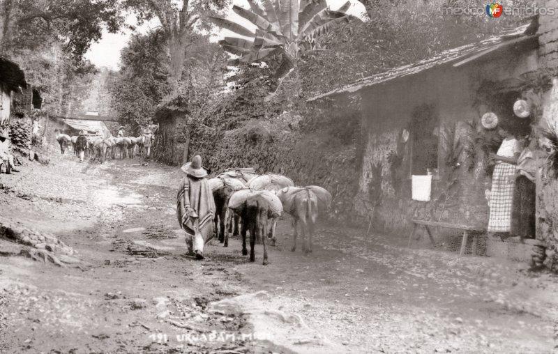 Calle en Uruapan