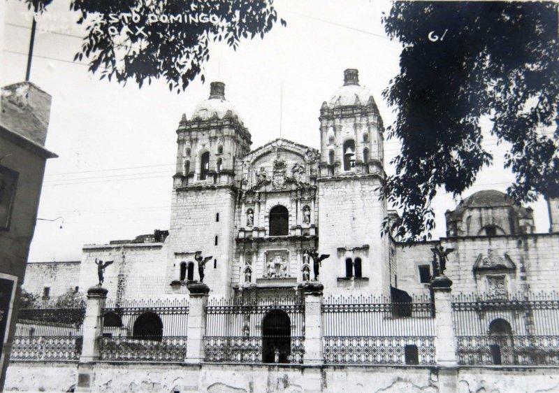 Templo de sto Domingo hacia 1930-1950