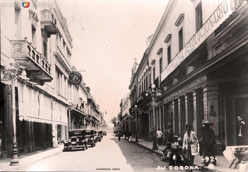 Avenida Corona circa 1935