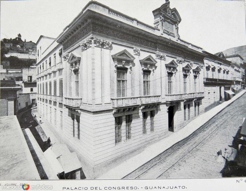 Palacio del congreso hacia 1900-1930