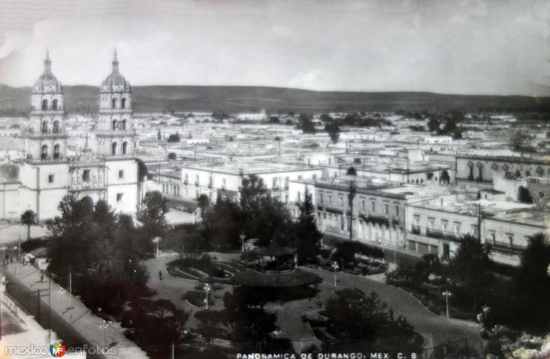 Panoramica de la Poblacion ( 1930-1950 )