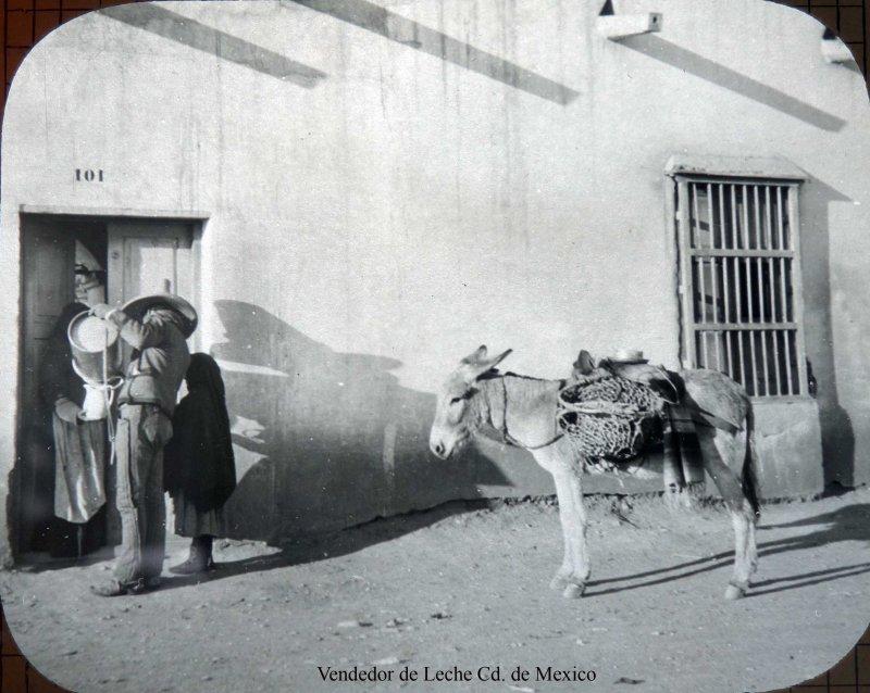 Vendedor de Leche Cd. de Mexico.