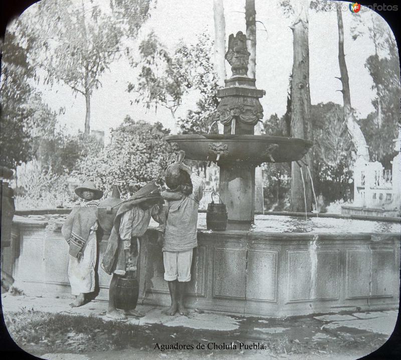 Aguadores de Cholula Puebla.