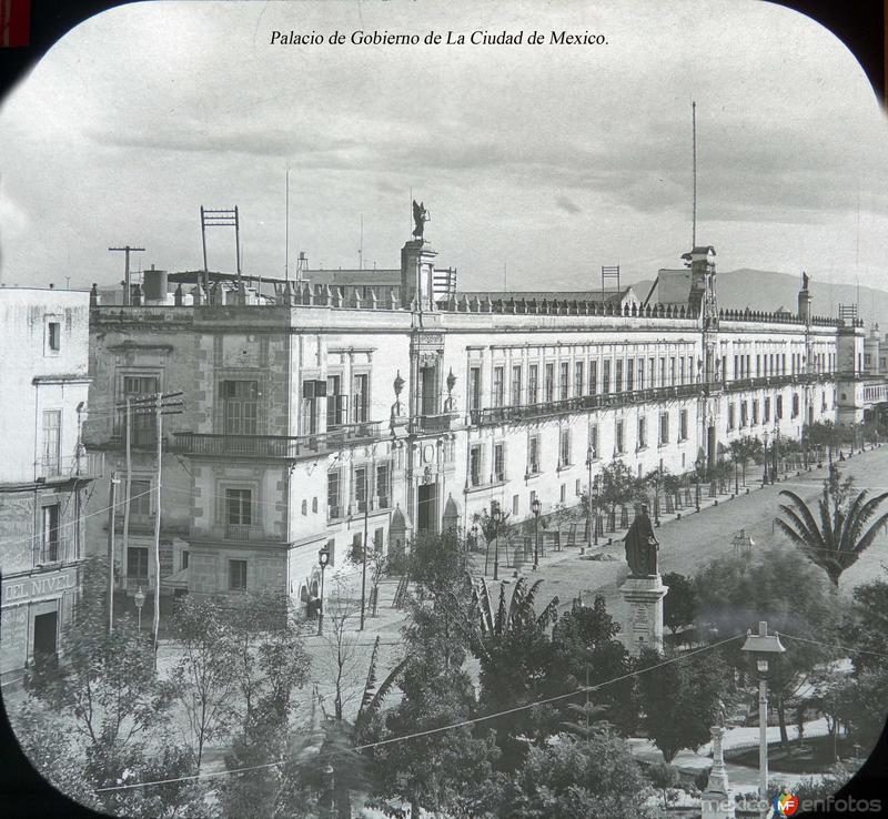 Palacio de Gobierno de La Ciudad de Mexico.
