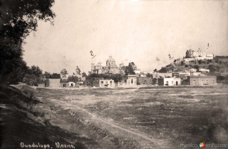 La Villa de Guadalupe ( Fechada el 6 de Agosto de 1909 ).