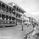 Calle Muelle y Plaza de la Libertad